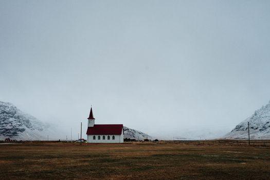 An Icelandic church