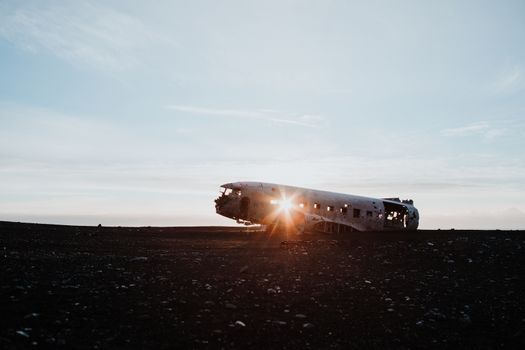 The DC-3 Plane wreck in Iceland