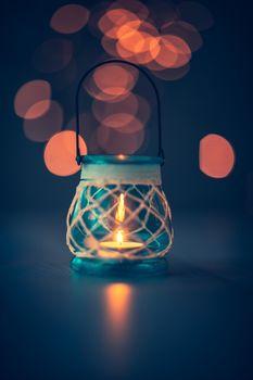 Vintage candle lantern