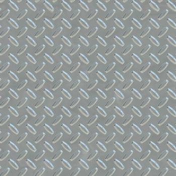 Steel Gray Metal Plate Seamless Texture