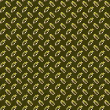 Yellow Green Metal Plate Seamless Texture