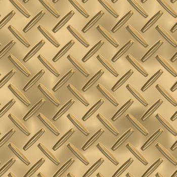 Brass Metal Plate Seamless Texture