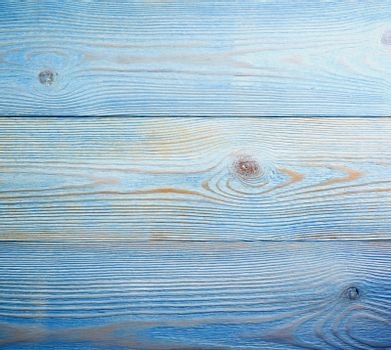 Stain Knot Blue and Beige Wooden Background closeup