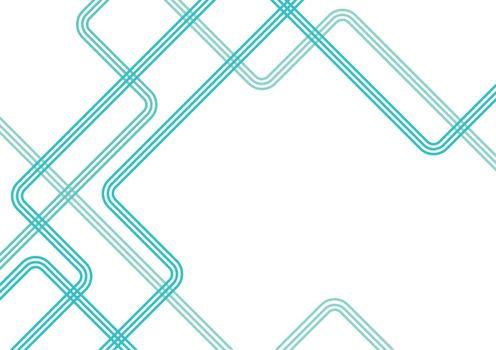 Directional lines concept, background illustration