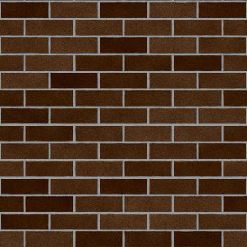 Chocolate Clay Bricks Seamless Texture