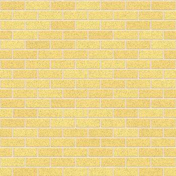 Dijon Yellow Clay Bricks Seamless Texture