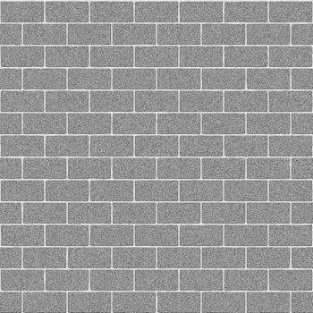 Gray Concrete Brick Wall Seamless Texture
