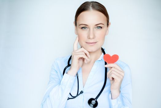 Portrait of a cardiologist doctor