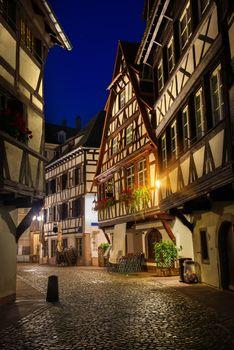 Strasbourg in the night