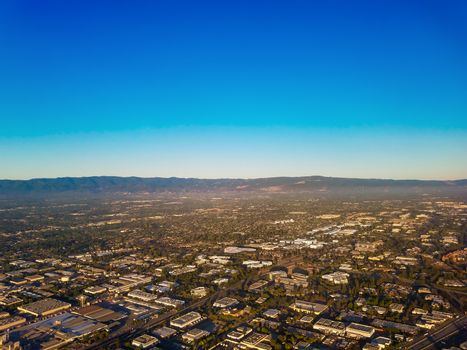 Silicon Valley Aerial View