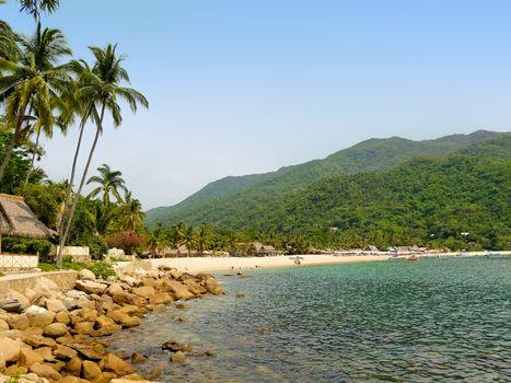 Yelapa Beach in Mexico