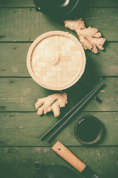 Asian cuisine concept