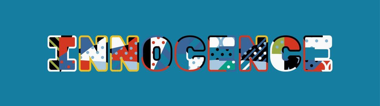 Innocence Concept Word Art Illustration