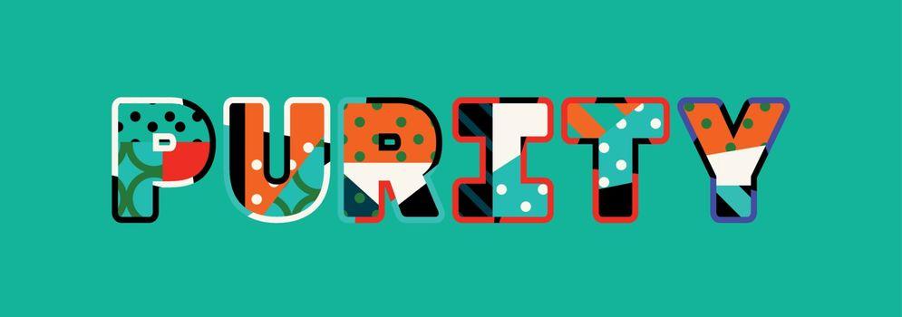 Purity Concept Word Art Illustration