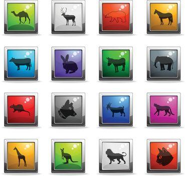 mammals icon set