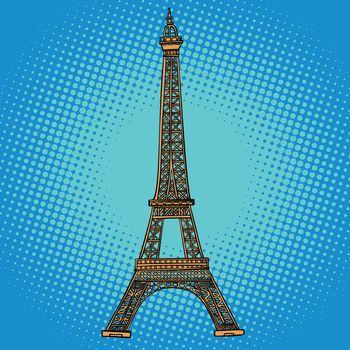 Eiffel tower. Paris France