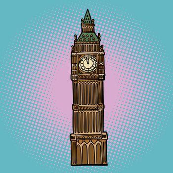 London Big Ben watch