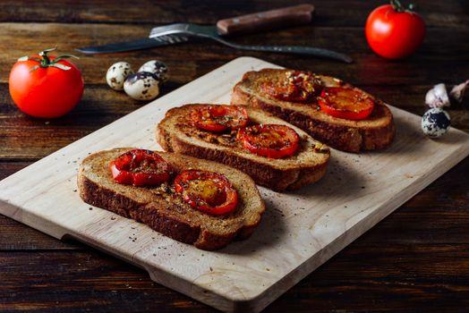 Bruschettas with Tomatoes