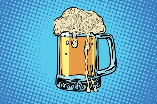 mug of beer. bar restaurant pub
