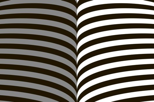 Abstract symmetrical black gray and white background. Lines symbolizing open book