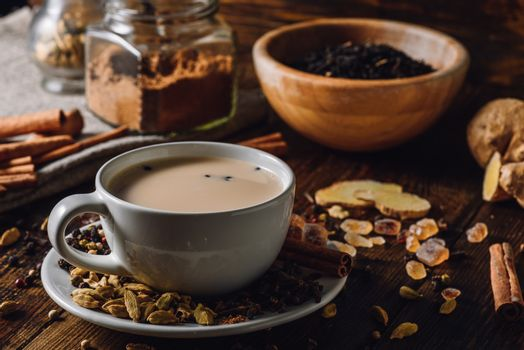 Warming Indian Masala Chai for Cold Winter