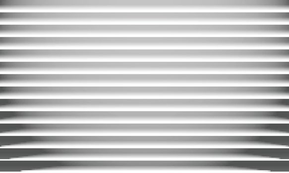 Abstract white paper horizontal lines texture and shadow background. Vector illustration