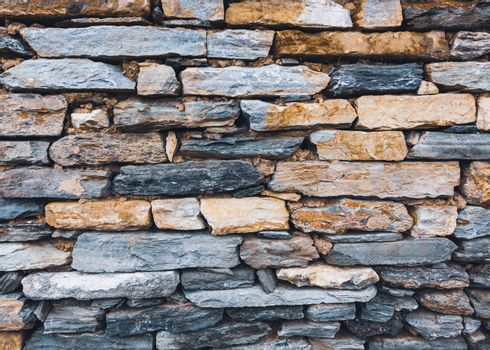 Stone wall texture, mud joints