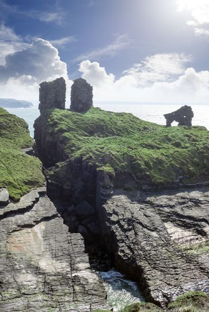lick castle in county kerry ireland on the wild atlantic way