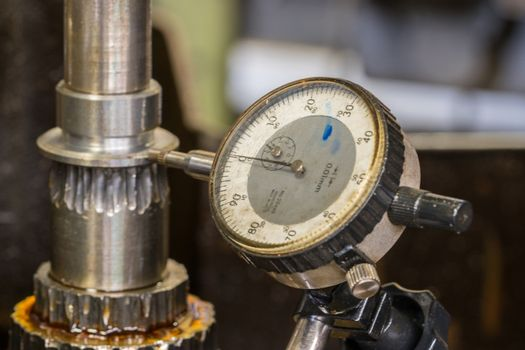 Dial gauge instrument