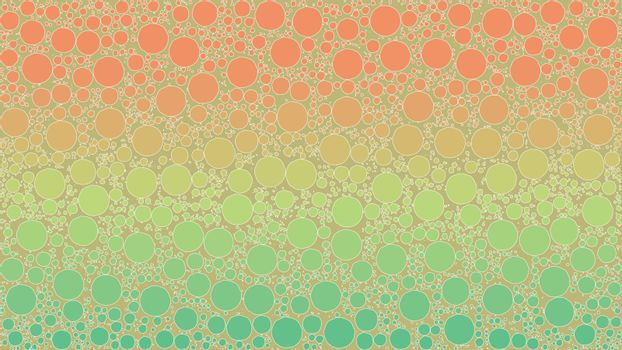 Background Made of a Gradient and Round Shapes