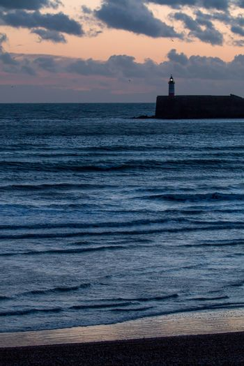Lighthouse at the End of the Day