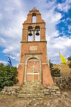 Orthodox church in Old Perithia, Corfu