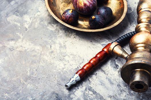 Egyptian shisha with figs