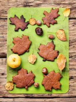 Autumn symbolic cookies
