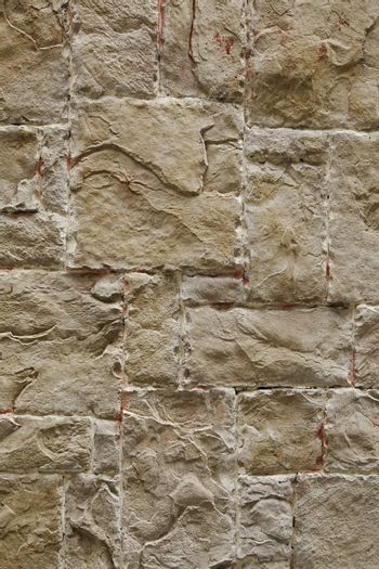 Rough textured wall, detail of a street background