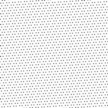 Black dotted pattern on white background and texture. Vector illustration