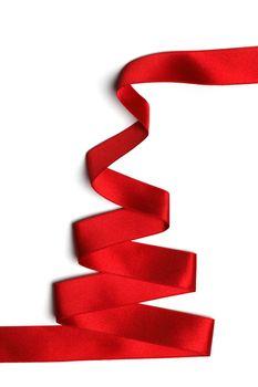 Stylized ribbon Christmas tree