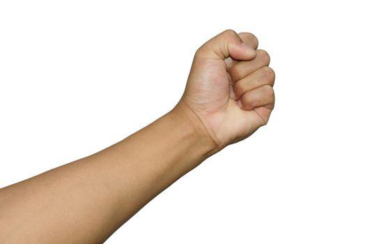 punching fist