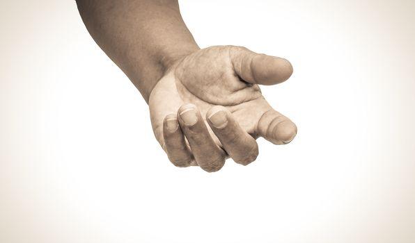 helping hand tone vintage