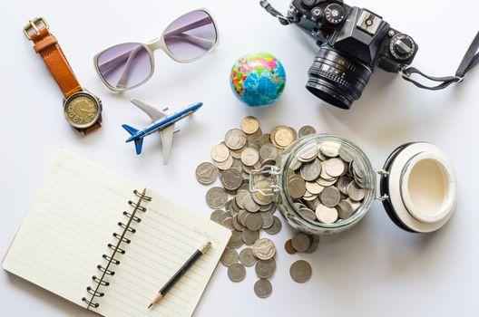 Saving money for tourism