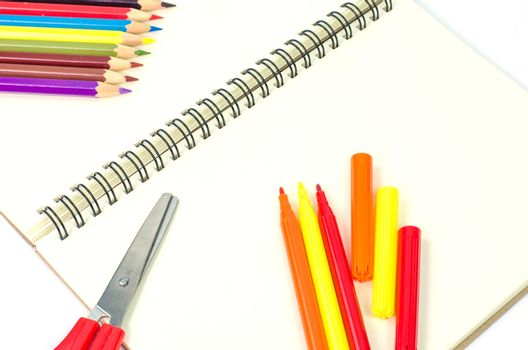 Stationary on a white background.