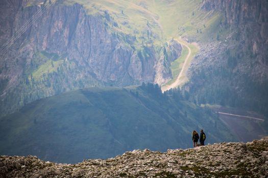 Dolomite's landscape