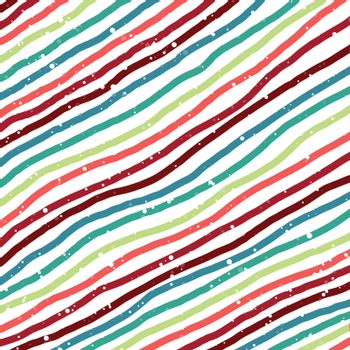Abstract christmas background brush oblique lines with snow fall on white background. Vector illustration