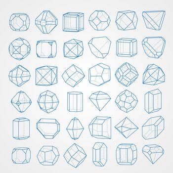 Big set of Geometrical Figures