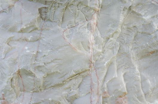 Marble with cracks