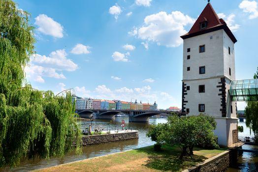 Water tower in Prague