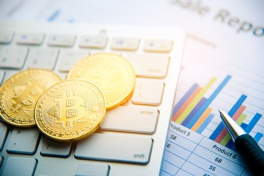 Bitcoin and its business-class laptop work and bring transaction