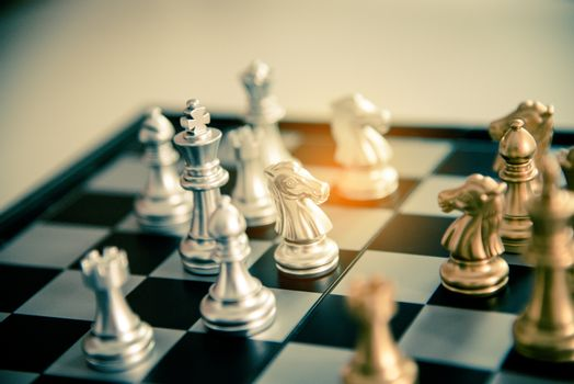 Chessboard - A competitive business idea to succeed.