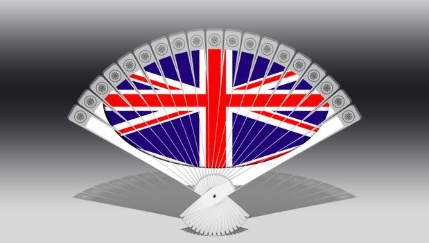 Hand  compartments with Union Jack