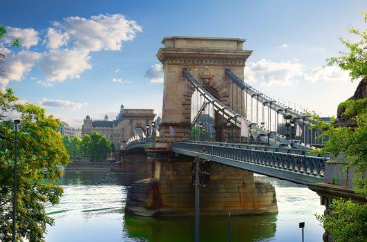 Ancient Chain bridge